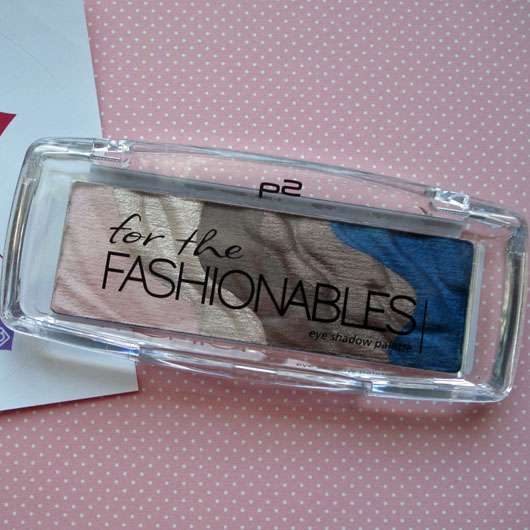 p2 eye shadow palette, Farbe: 020 for the fashionables