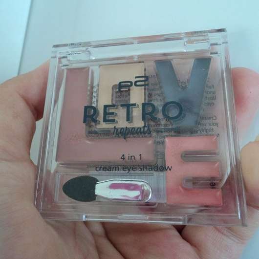 p2 retro repeats 4in1 cream eye shadow, Farbe: 010 vintage vibes (LE)