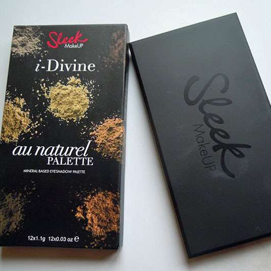 Sleek MakeUP I-Divine Eyeshadow Palette, Farbe: Au Naturel