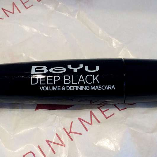 BeYu Deep Black Volume & Defining Mascara, Farbe: Black