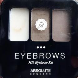 Produktbild zu ABSOLUTE NEW YORK HD Eyebrow Kit – Farbe: AEBK01 Ash Blonde
