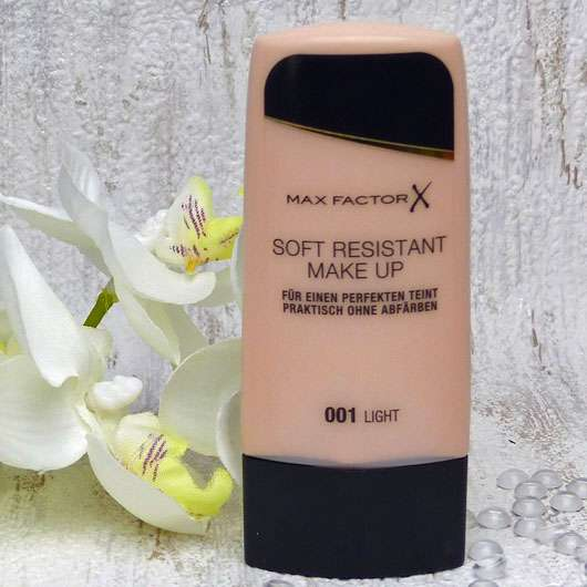 Max Factor Soft Resistant Make Up, Farbe: 001 light