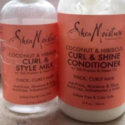 Produktbild zu Shea Moisture Coconut & Hibiscus Curl & Shine Conditioner