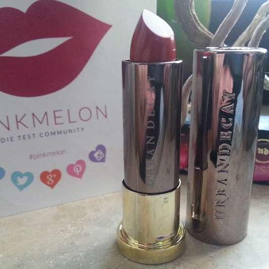 Urban Decay VICE Lipstick, Farbe: Temper (Comfort Matte Finish)