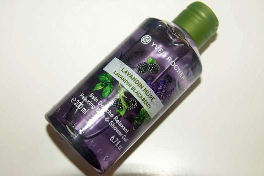 Yves Rocher Plaisirs Nature Duschbad Lavendel-Brombeere