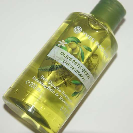 Yves Rocher Plaisirs Nature Duschbad Olive-Petitgrain