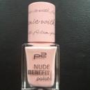 p2 nude benefit polish, Farbe: 040 picnic with Adam