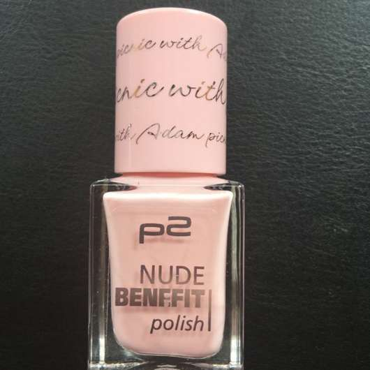 p2 nude benefit polish, Farbe: 040 picnic with Adam
