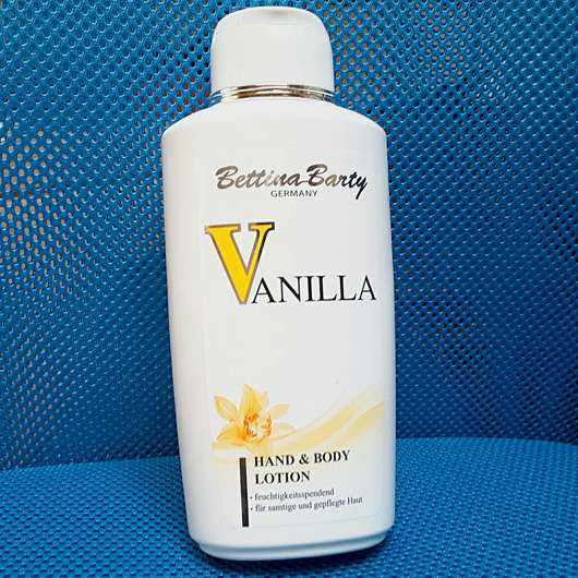 Bettina Barty Vanilla Hand & Body Lotion