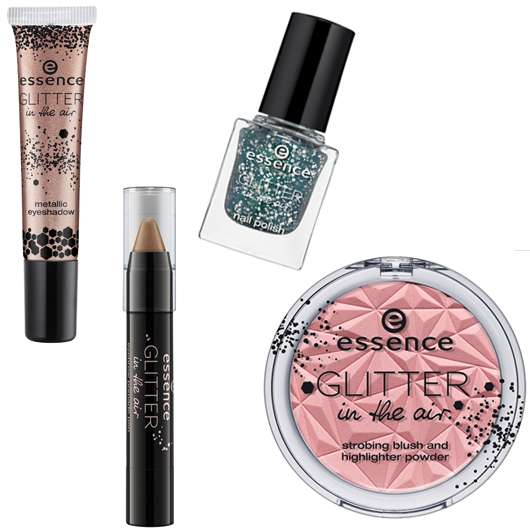 "essence trend edition ""glitter in the air"""