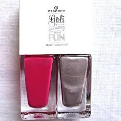 Produktbild zu essence girls just wanna have fun duo nailpolish – Farbe: 01 just me & my girls (LE)
