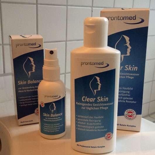 Prontomed Skin Balance Sprühgel + Clear Skin Gesichtswasser