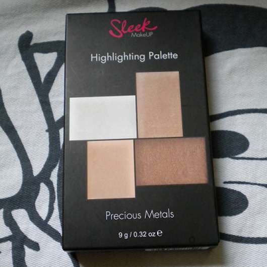 Sleek MakeUP Highlighting Palette, Farbe: Precious Metals