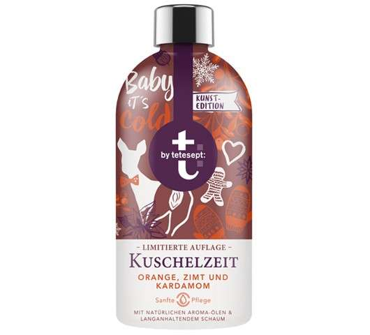 t: by tetesept Schaumbad Kuschelzeit