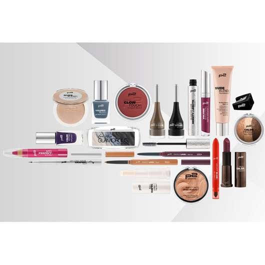5 x 20-teiliges Make-up Set von p2 cosmetics zu gewinnen