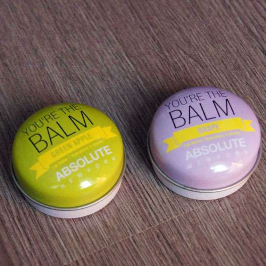 "ABSOLUTE NEW YORK Duo Lip Balm ""You're the balm"" (Green Apple + Grape)"