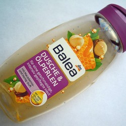 Produktbild zu Balea Dusche & Ölperlen mit Macadamia- und Honig-Duft