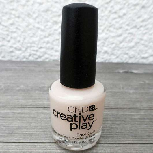 CND creative play Base Coat-Flasche Base Coat