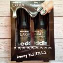 edding L.A.Q.U.E. heavy M.E.T.A.L.S. Nagellack, Farbe: full metal S.T.E.E.L. (LE)