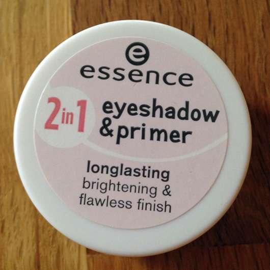 essence 2in1 eyeshadow & primer, Farbe: 02 nude rosé