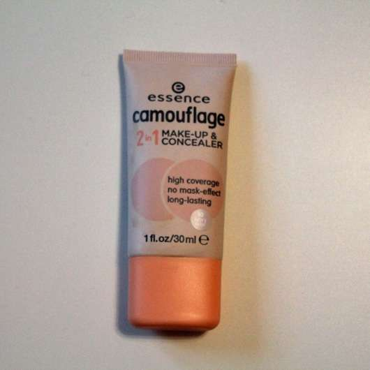 essence camouflage 2in1 make-up & concealer, Farbe: 10 ivory beige