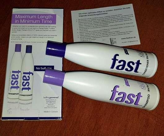 FAST Shampoo/Conditioner Kombination