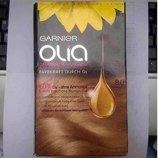 Garnier Olia Dauerhafte Haarfarbe, Farbe: 8.0 Naturblond