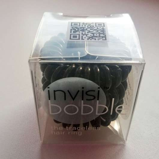 Ininvisibobble ORIGINAL Collection Haargummi, Farbe: True Black - Verpackung