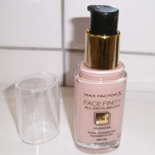 Max Factor Face Finity All Day Flawless 3in1 Foundation, Farbe: 50 Natural