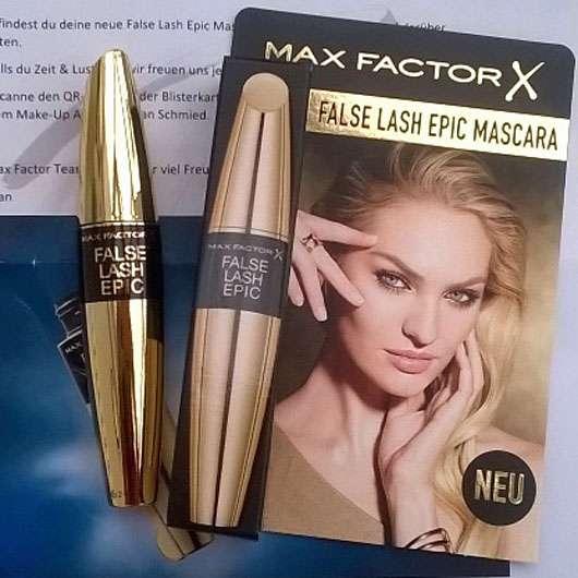 Max Factor False Lash Epic Mascara, Farbe: Black