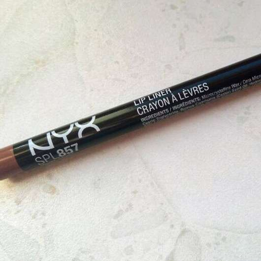 NYX Slim Lip Pencil, Farbe: 857 Nude Beige
