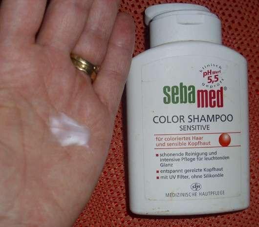 test shampoo sebamed color shampoo sensitive. Black Bedroom Furniture Sets. Home Design Ideas