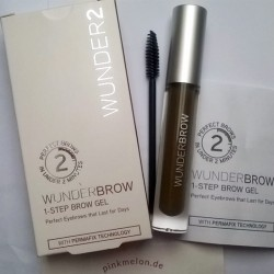 Produktbild zu WUNDER2 WUNDERBROW Semi Permanent Eyebrows-Gel – Farbe: Black/Brown