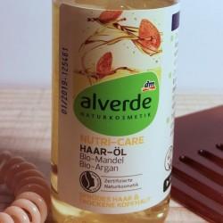 Produktbild zu alverde Naturkosmetik Nutri-Care Haaröl Bio-Mandel Bio-Argan