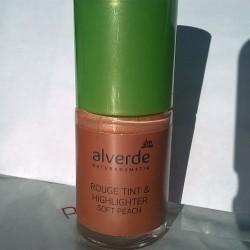 Produktbild zu alverde Naturkosmetik Rouge Tint & Highlighter Soft Peach