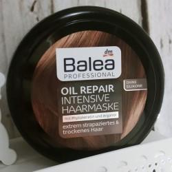 test haarmaske balea professional oil repair intensive haarmaske testbericht von bambelle. Black Bedroom Furniture Sets. Home Design Ideas