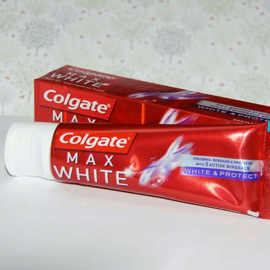 <strong>Colgate</strong> Max White - White & Protect Zahncreme