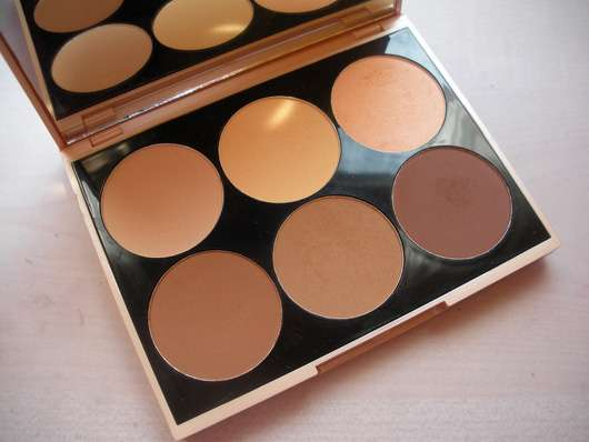 Douglas Make-up Contouring Palette Farben
