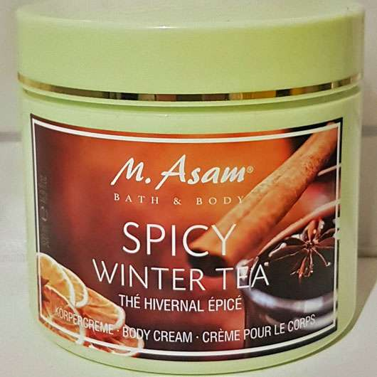 M. Asam Spicy Winter Tea Körpercreme - Tiegel