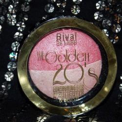 Produktbild zu Rival de Loop The Golden 20's Contouring Duo Highlighter & Blush (LE)