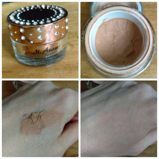 M. Asam Magic Mousse Make-Up - Collage Tiegel Swatch