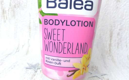 Balea Bodylotion Sweet Wonderland (LE) Design