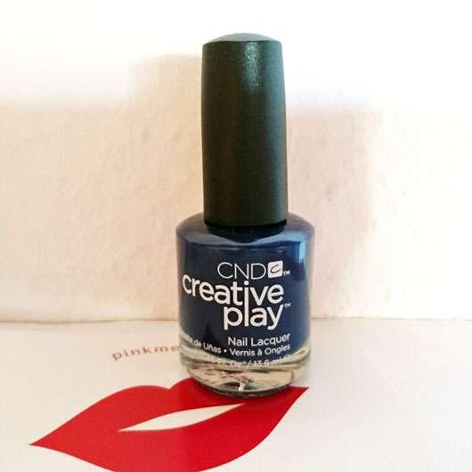 CND CREATIVE PLAY Nail Lacquer, Farbe: Navy Brat Flasche