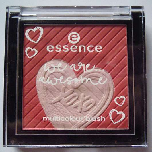 essence we are... awesome multicolour blush, Farbe: 01 you & me = awesome (LE) Design