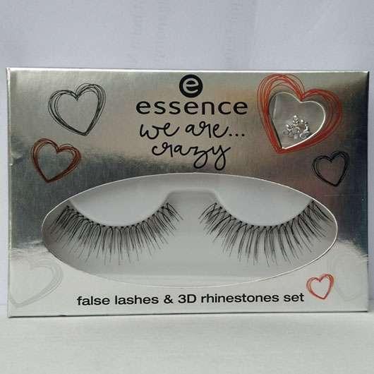 essence we are… crazy false lashes & 3D rhinestone set – 01 I'm crazy like you (LE)