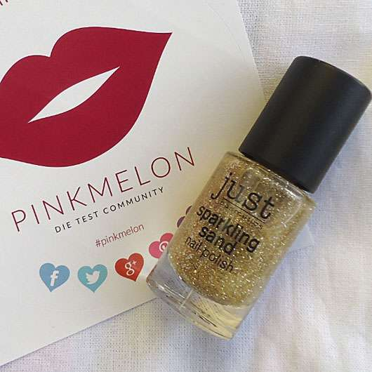 just cosmetics sparkling sand nail polish, Farbe: 080 bling - Flasche