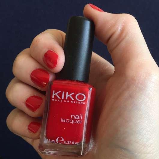KIKO Nail Lacquer, Farbe: 238 Martha Red