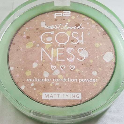 p2 most loved cosiness multicolor correction powder, Farbe: 010 smooth sand (LE)