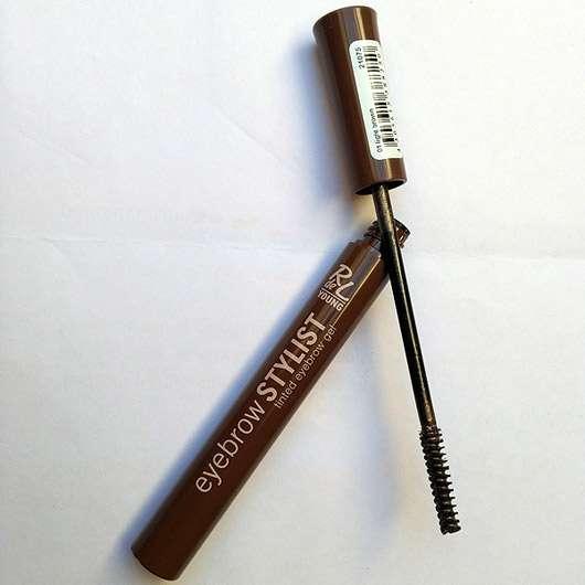 Rival de Loop Young Eyebrow Stylist, Farbe: 01 light brown - geöffnetes Produkt