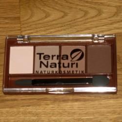 Produktbild zu Terra Naturi Naturkosmetik Quattro Eyeshadow – Farbe: 05 Chocolate Variety
